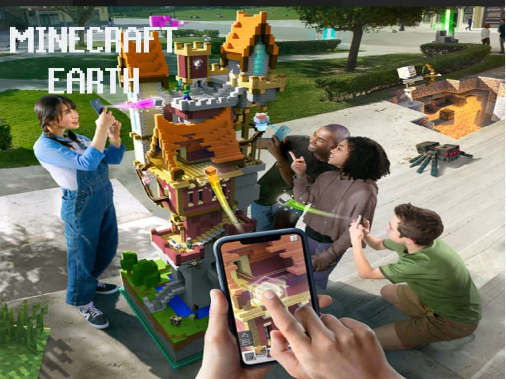 Minecraft Earth Augmented Reality