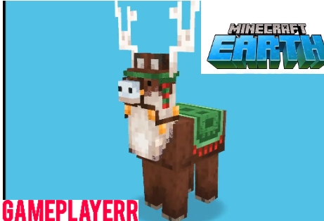 Jolly Llama in Minecraft Earth