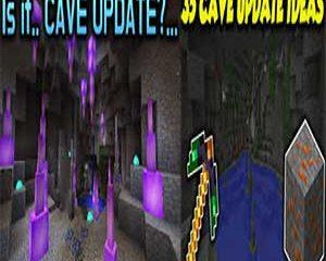 Minecraft Cave Update