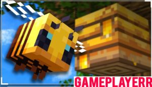 Bee in Minecraft