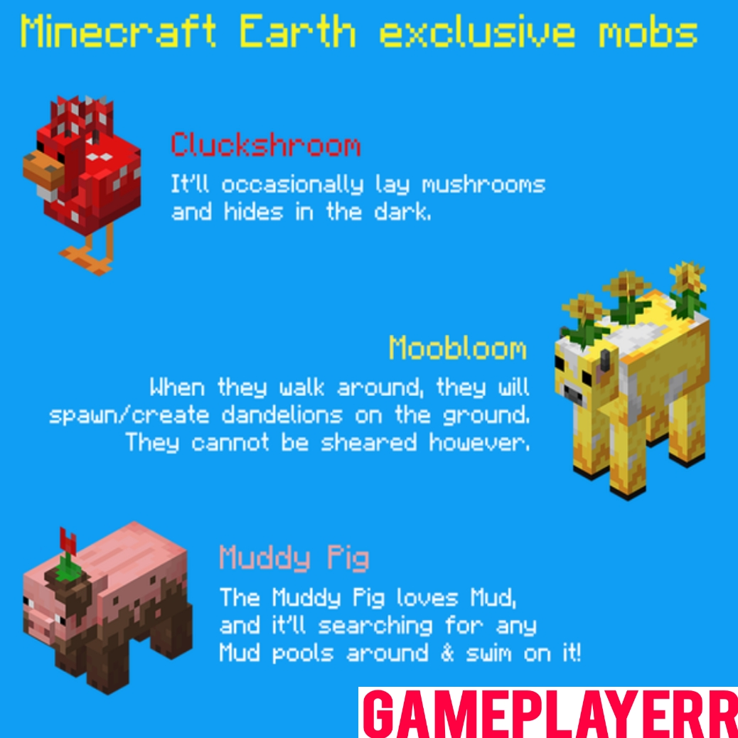 All Minecraft Earth Mobs Wiki