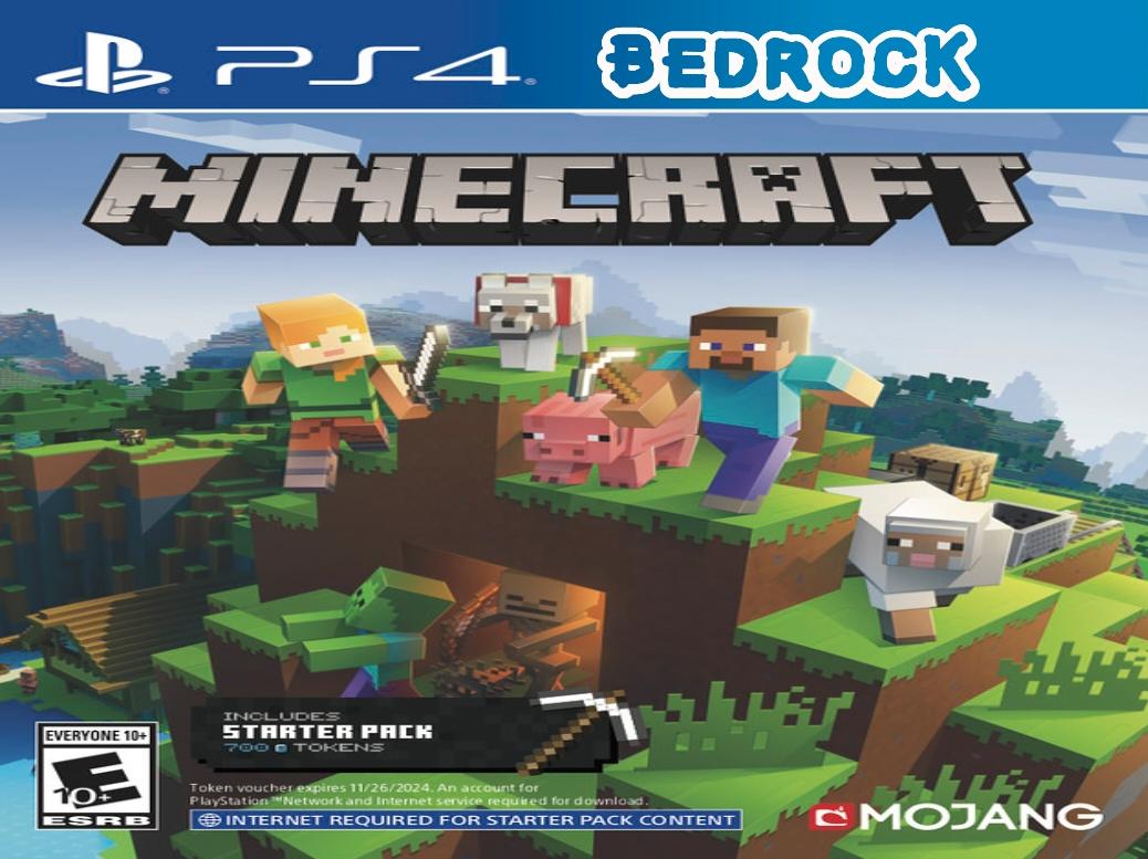 Minecraft PS4 Bedrock Update