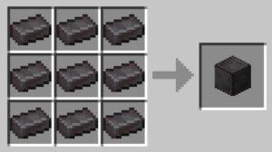 Netherite Block Recipe
