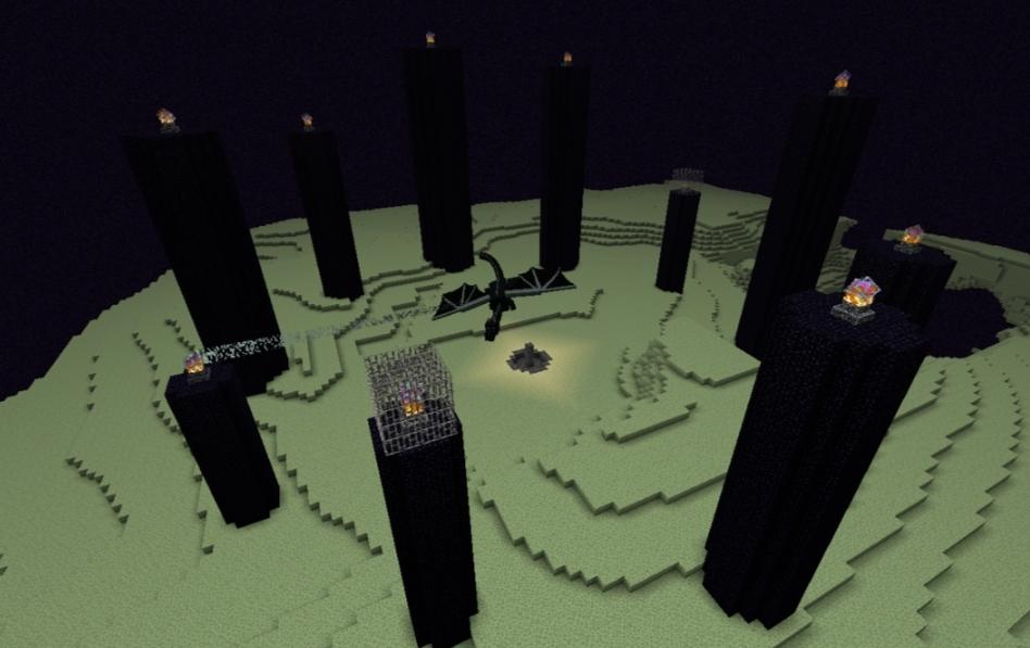 Minecraft End Update