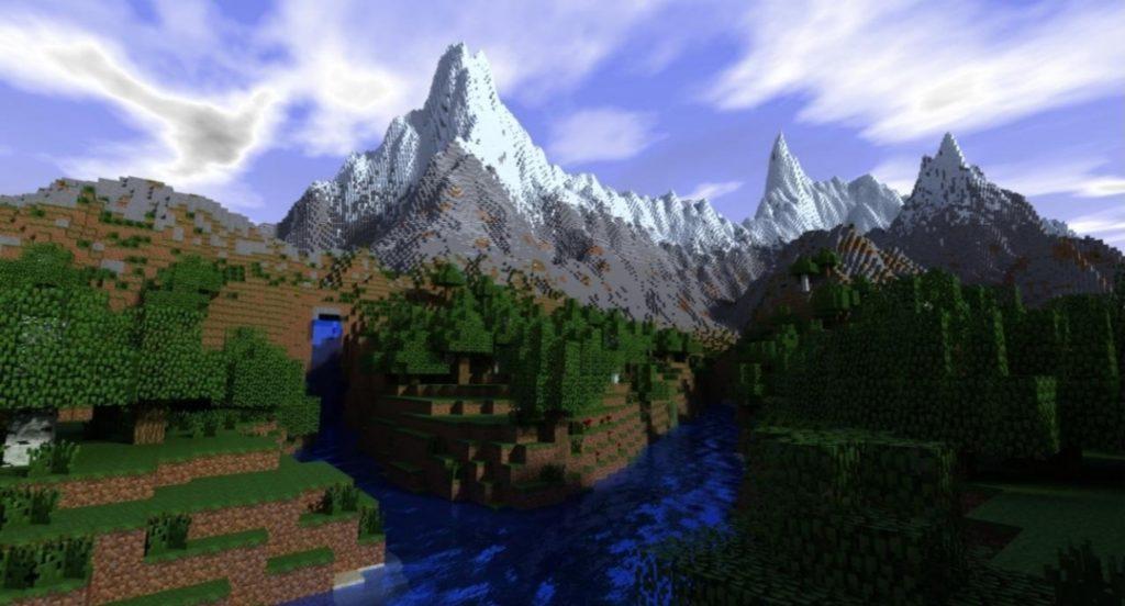 Minecraft Mountain Update