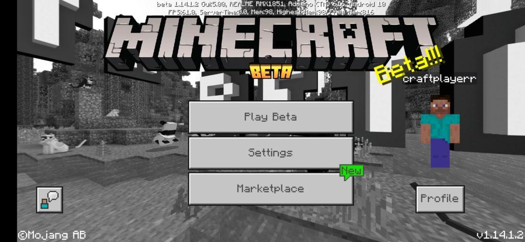 Minecraft Bedrock 1.15 Beta
