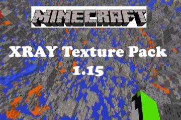 Minecraft Xray Texture Pack 1.15