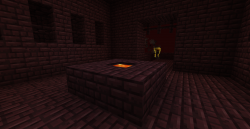 Nether Brick Lava Well