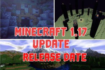 Minecraft 1.17 Release Date