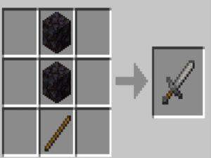 Stone Sword Recipe