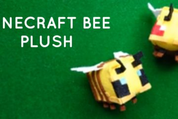 Minecraft Bee Plush