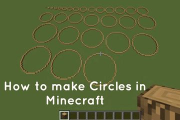 circles in minecraft