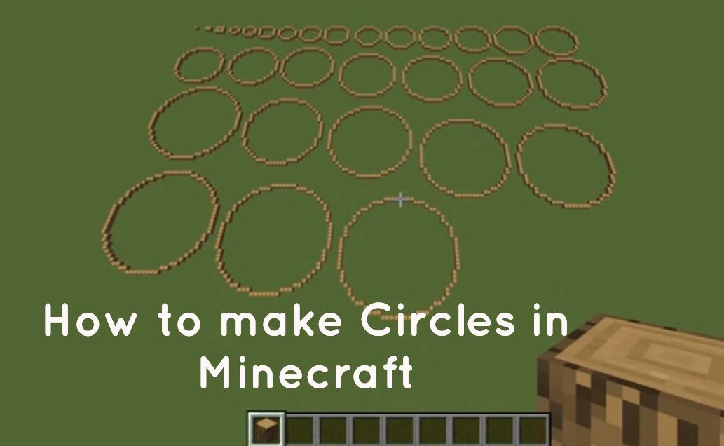 circles in minecraft