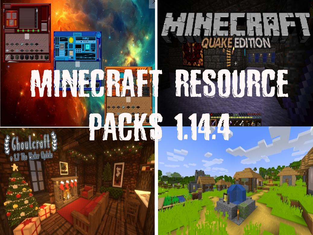 Minecraft Resource Packs 1.14.4