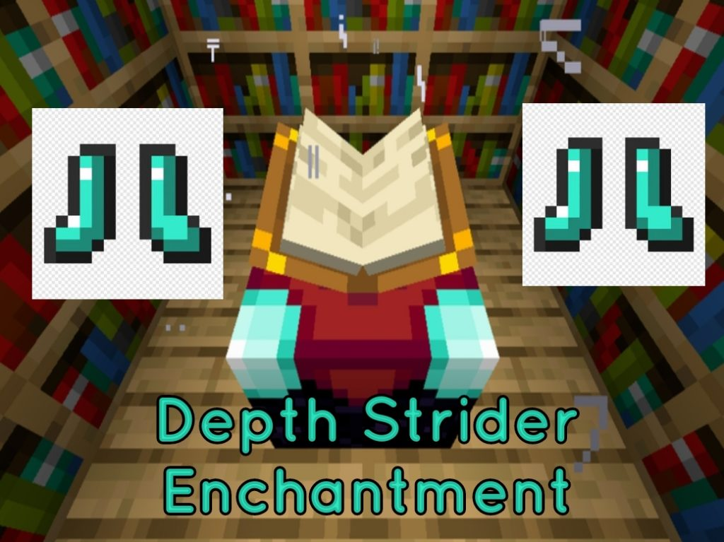 Depth Strider Minecraft Enchantment