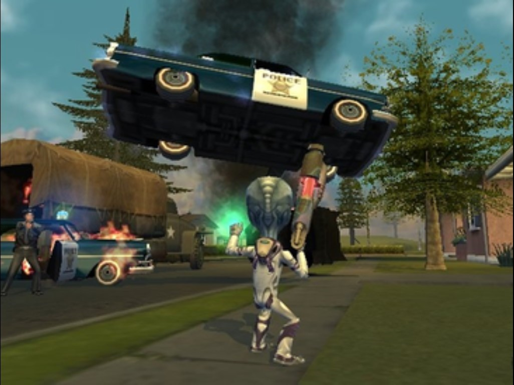 Destroy All Humans Remake Release Date Gameplay