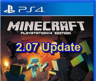 Minecraft 2.07 PS4