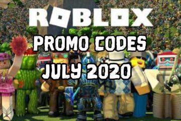 Roblox Promo Codes July 2020