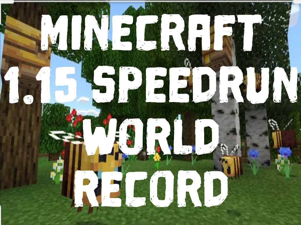 Minecraft 1.15 Speedrun World Record