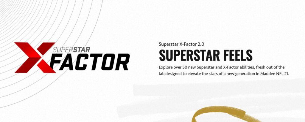 Madden 21 superstar X factors abilities