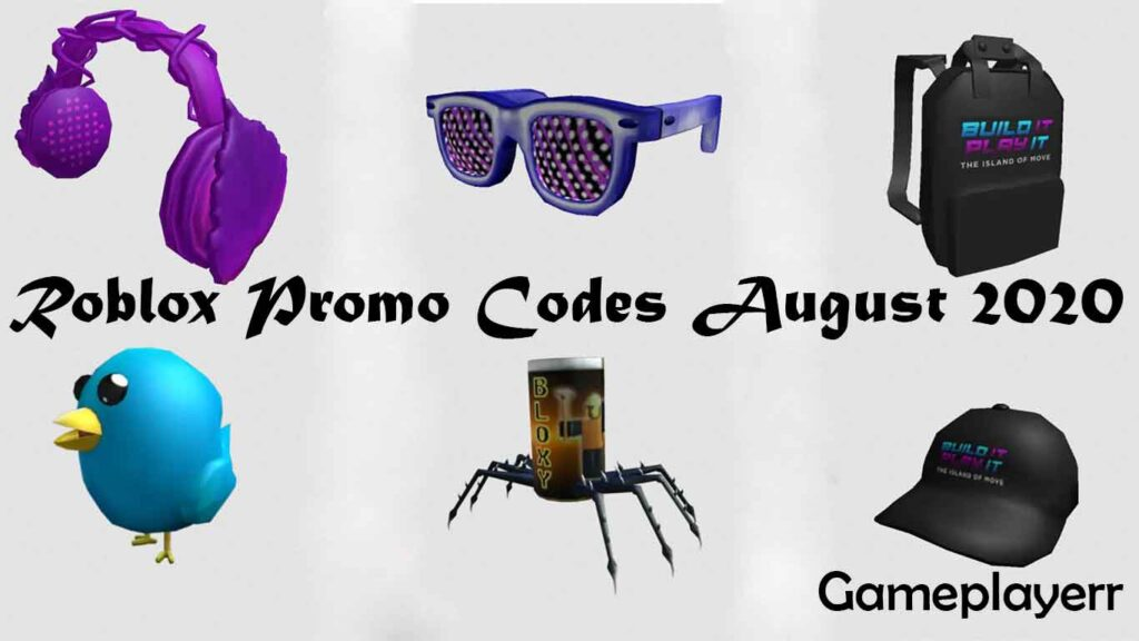 Promo Codes List Roblox List Of All Roblox Promo Codes August 2020 For Free Gameplayerr