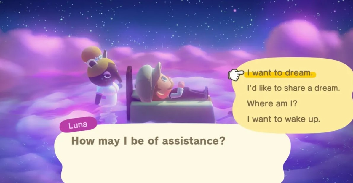 animal crossing new horizons dream address
