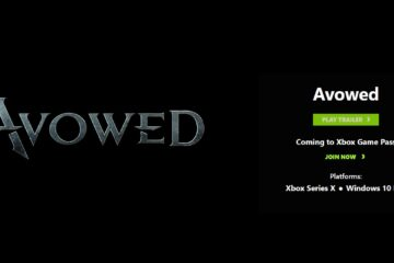 avowed game release date