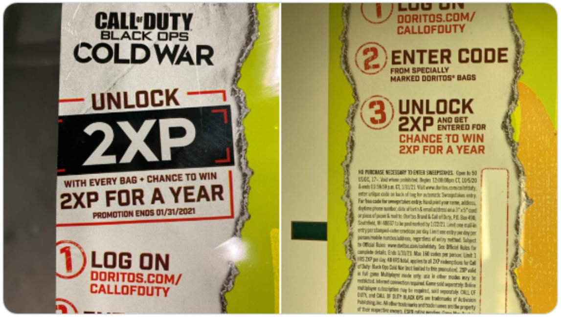 Roblox Limited Leaks 2020 Call Of Duty Cold War Leaked Logo Revealed By Doritos Expected Release Date In 2020 Gameplayerr
