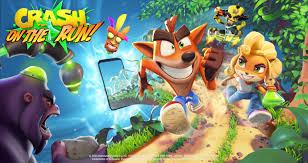 crash bandicoot on the run download