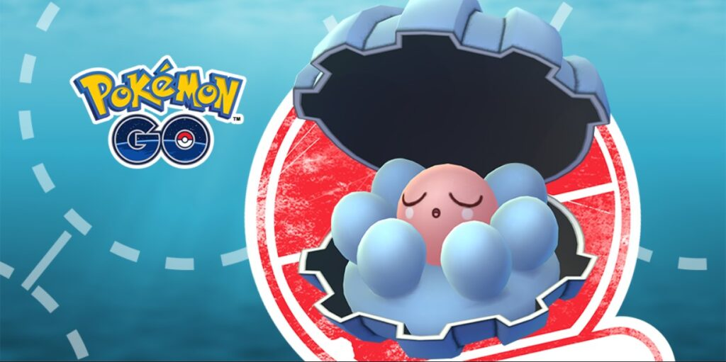 how to evolve clamperl pokemon go