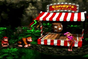 how to save in donkey kong country