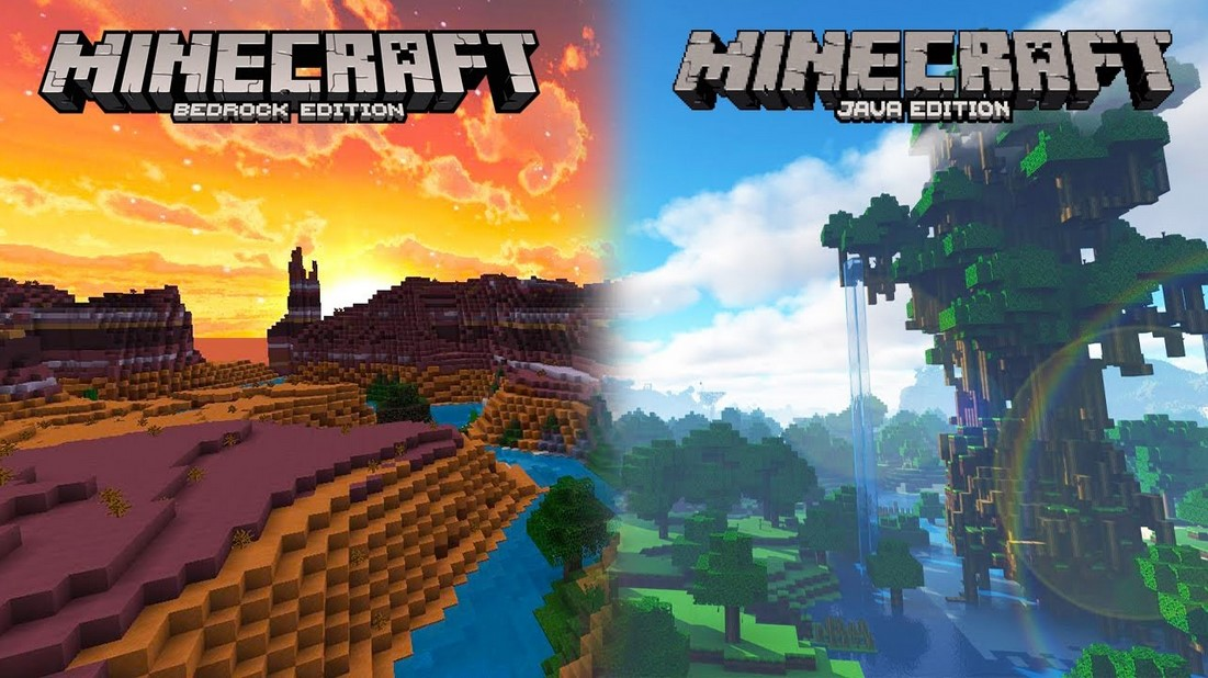 Minecraft Java vs Bedrock Edition: All differences you need to