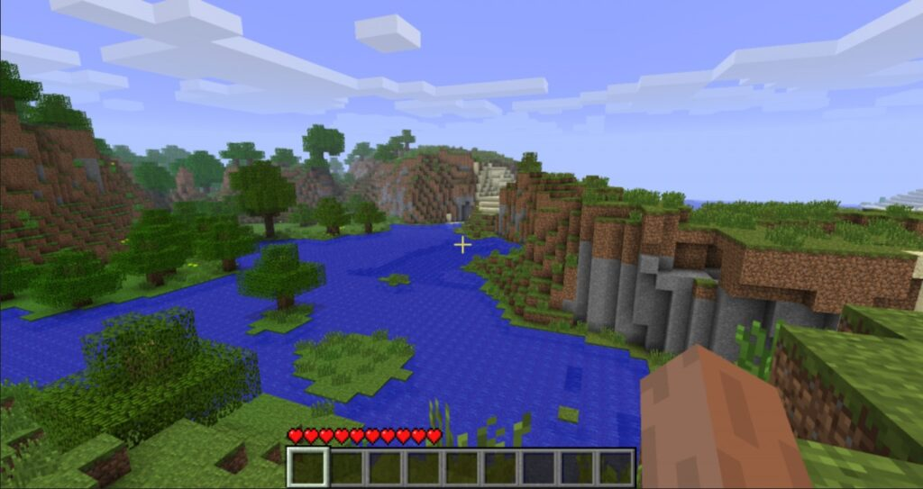 minecraft title screen seed