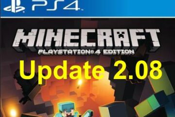 Minecraft PS4 Update 2.08