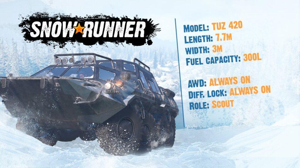 snowrunner update 1.08