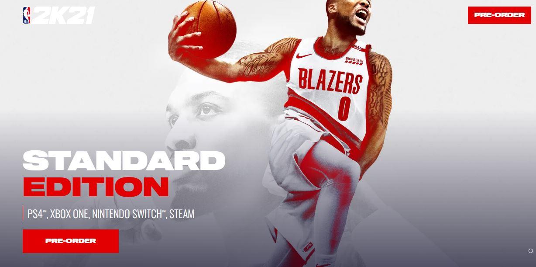 NBA 2K21 Slandered Edition Price