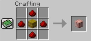 target block in minecraft