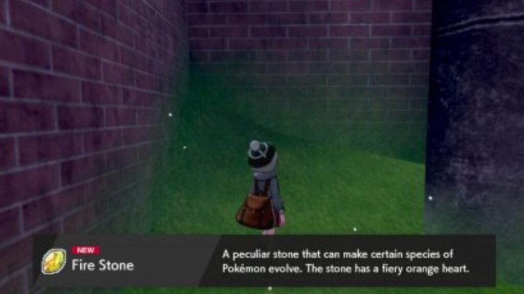 where to find a fire stone in pokemon sword