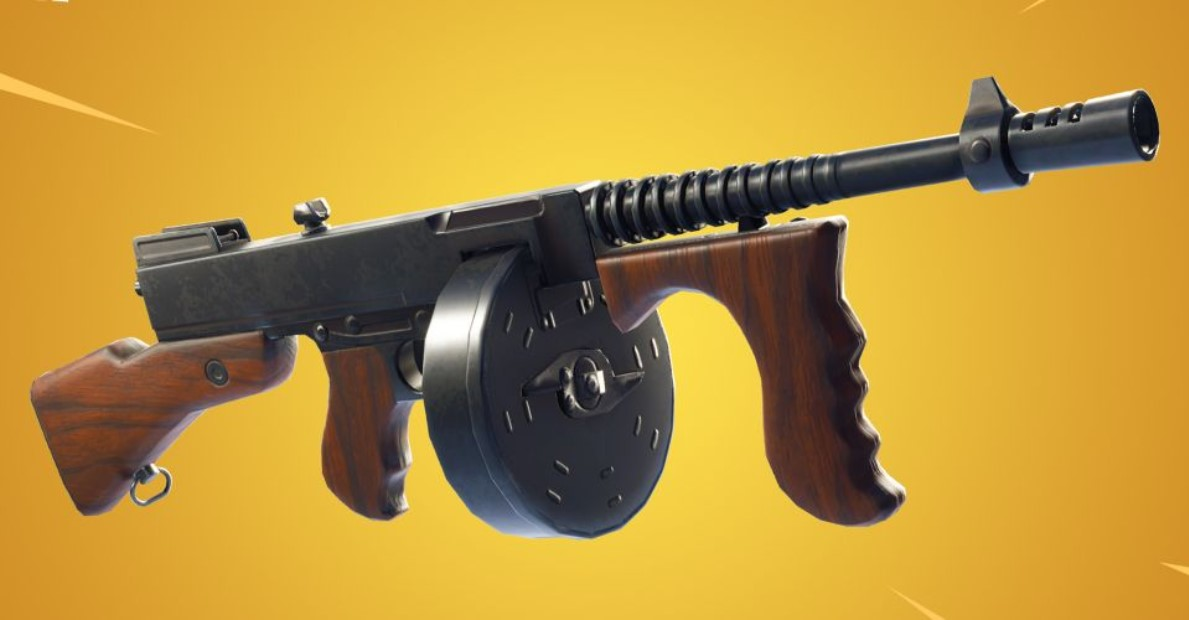 Fortnite Season 4 Unvaulted Weapons