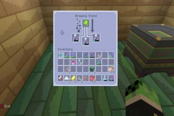 Minecraft Splash Potion of Weakness
