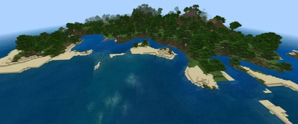 Minecraft Survival Island Seeds imag