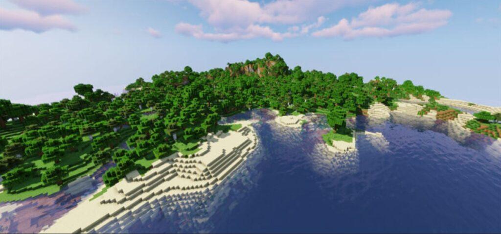 Minecraft Survival Island Seeds image