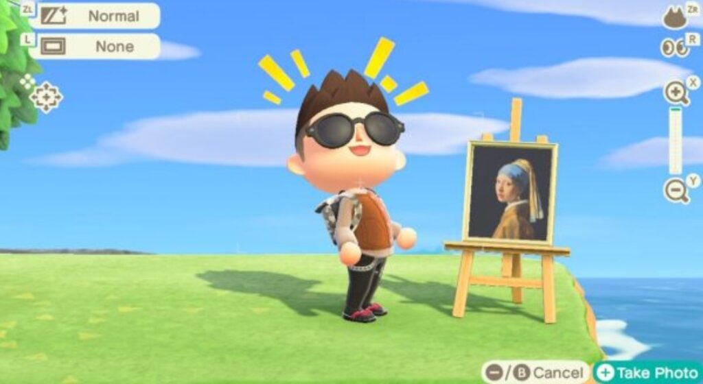 animal crossing painting guide