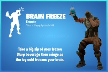 fortnite brain freeze emote