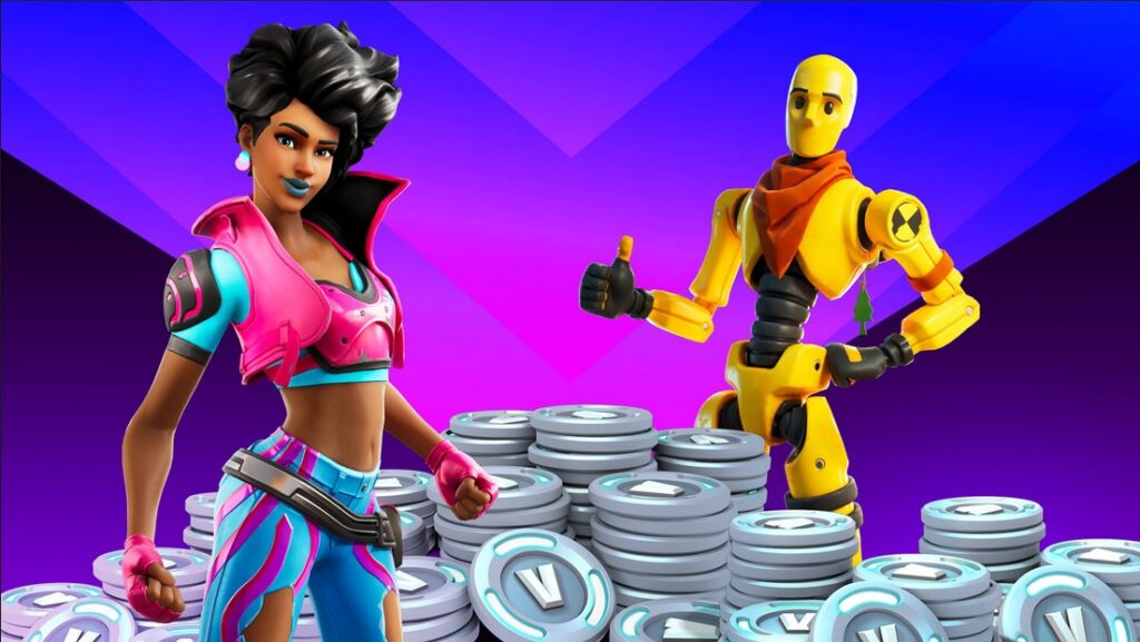 fortnite giving away vbucks