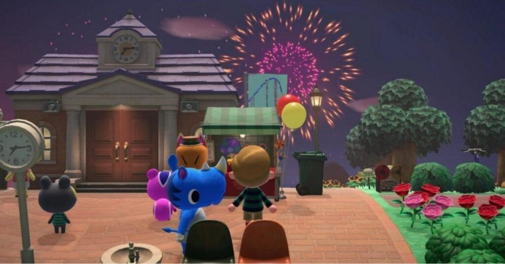 how to design custom fireworks animal crossing