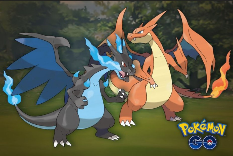 mega charizard pokemon go
