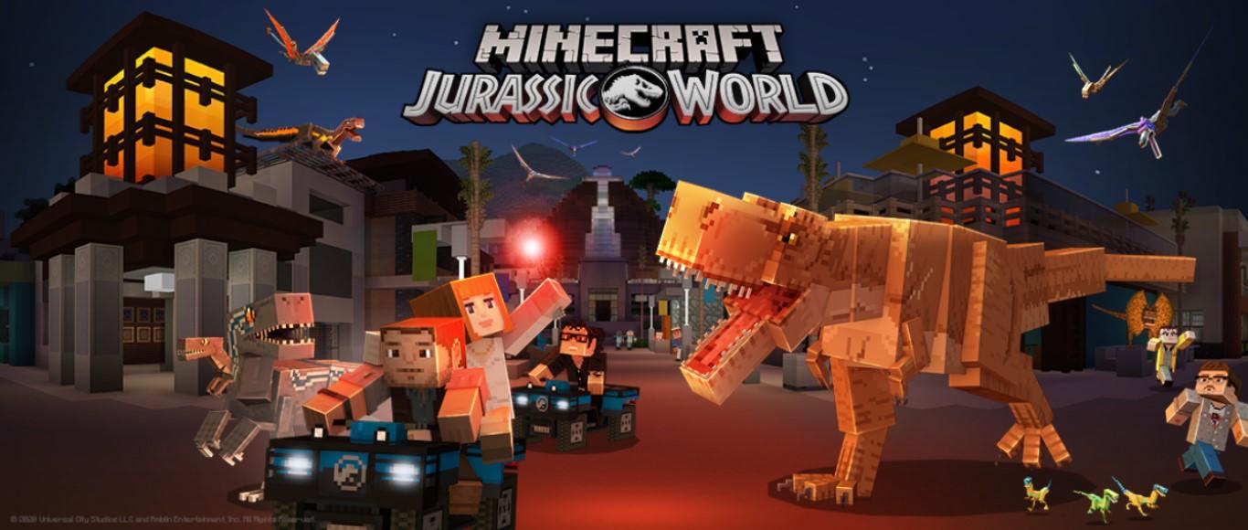 minecraft jurassic world dlc
