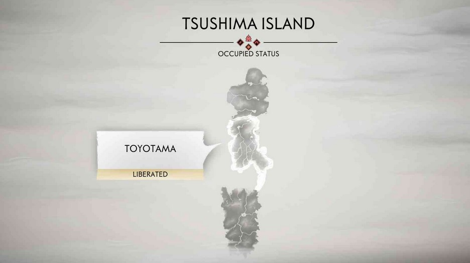 ghost of tsushima map size img