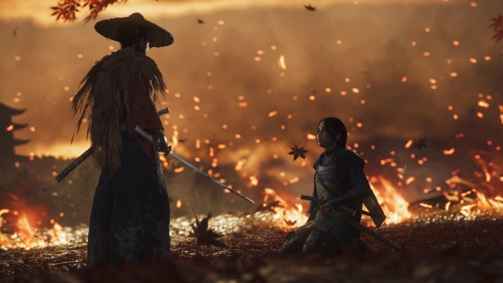 ghost of tsushima map size imge